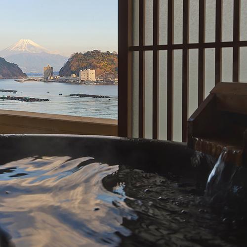 海と富士絶景の美食宿 伊豆・三津浜 松濤館(しょうとうかん)/客室