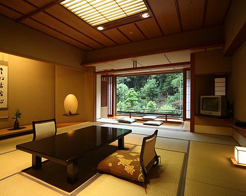 長門湯本温泉 大谷山荘/客室