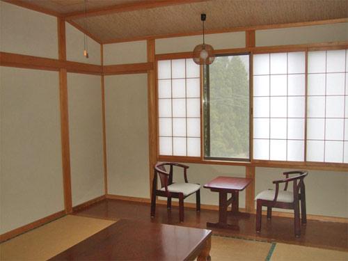 月の沢温泉北月山荘/客室