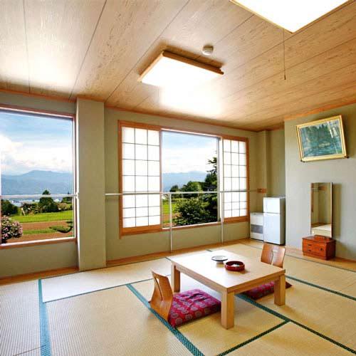 静養と麦めしの宿 西山荘/客室