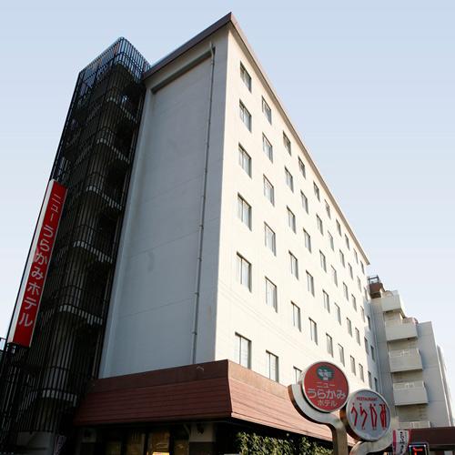 ニューうらかみホテル/外観