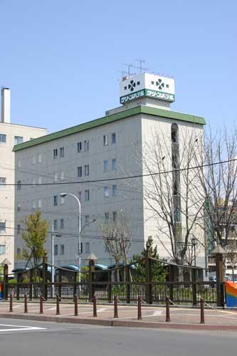室蘭グリーンホテル/外観