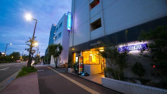 平和台ホテル大手門(旧 球場前別館)/外観