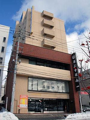 ホテルメイツ旭川/外観