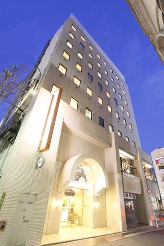 アレーホテル広島並木通(旧 ホテル かめまん)/外観