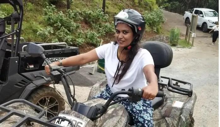 safari quad biking in the park