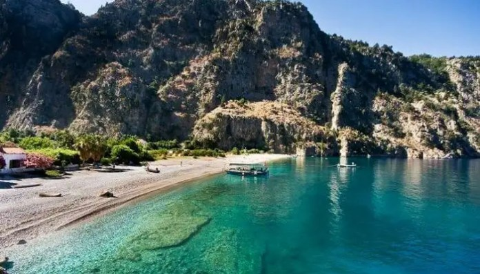 A bright day at Butterfly Valley, Oludeniz