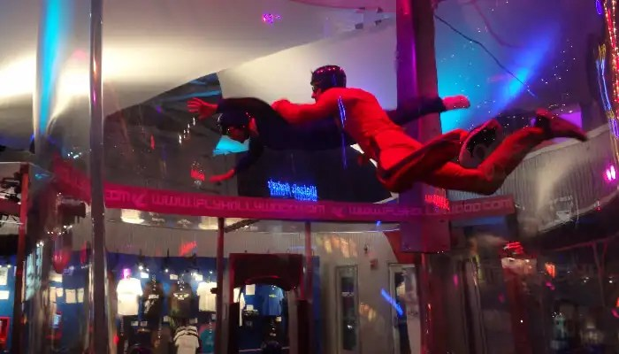 Indoor Sky Diving in Singapore