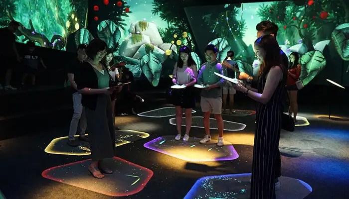 changi experience studio garden of harmony