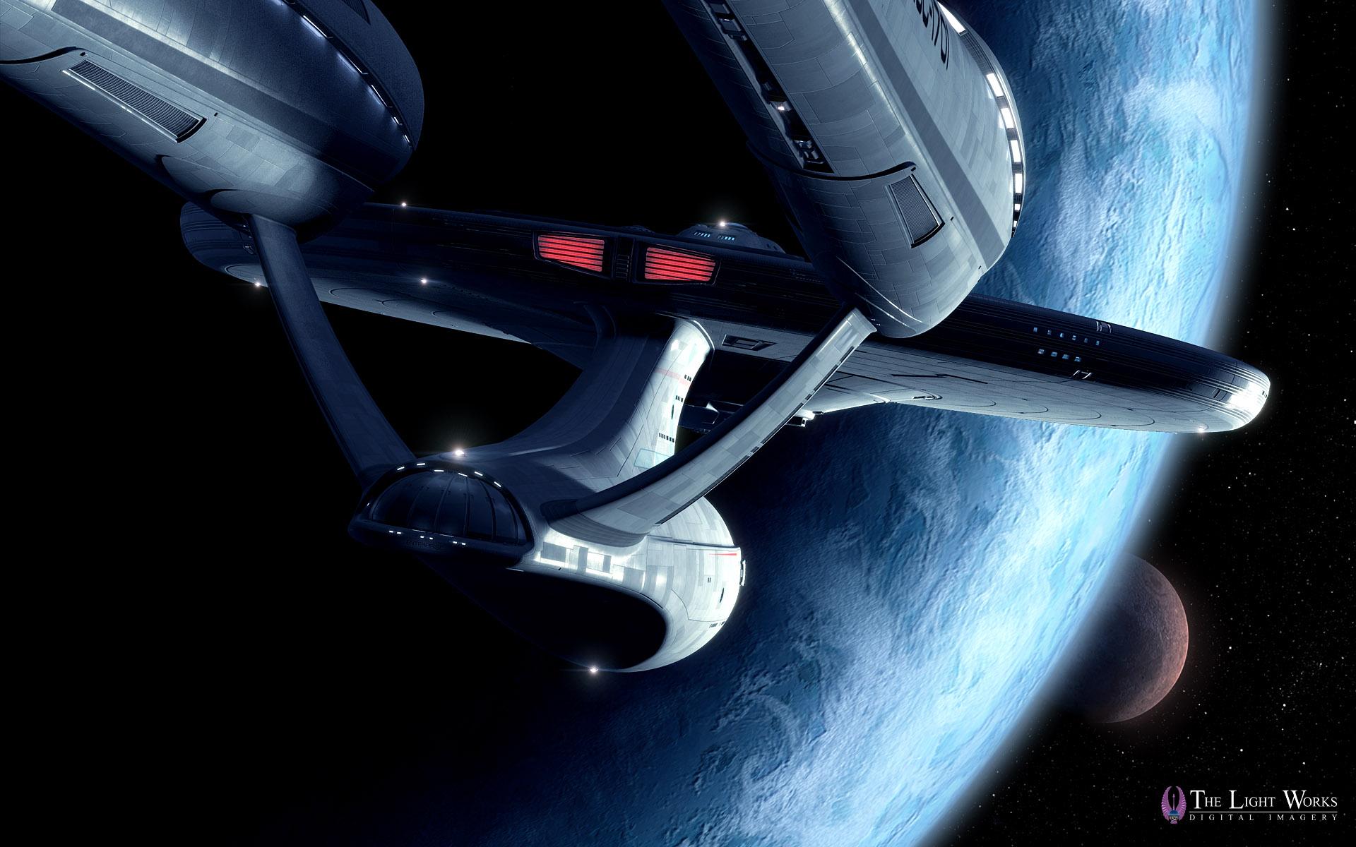 First Look at Tobias Richter's Star Trek Movie USS Enterprise Wallpapers