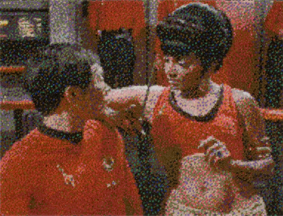 Uhura and Sulu (The game has rules)