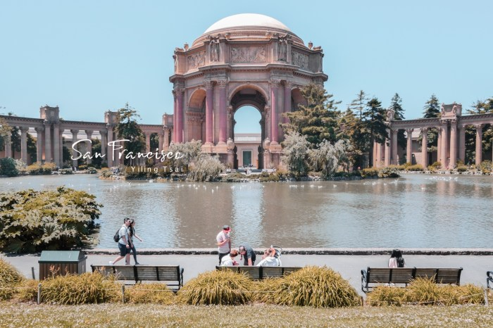 美國舊金山景點 藝術宮 Palace of Fine Arts 萬國博覽會建築作品