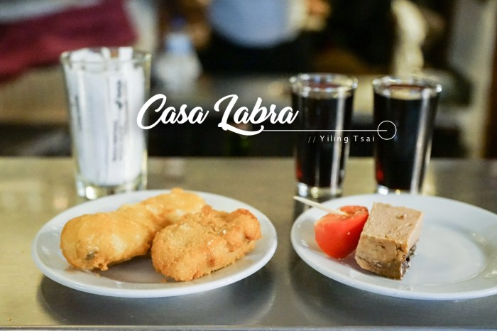 西班牙馬德里美食推薦 Casa Labra 好吃炸鱈魚小酒館