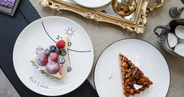 [台中 西區] Fermento 發酵 超美大理石紋玻璃屋甜點店 台中美食推薦