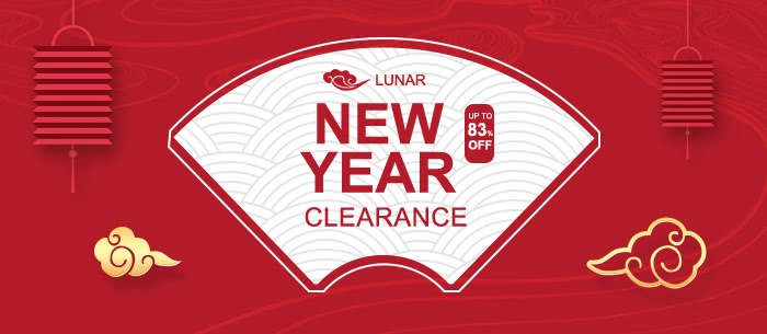 Up to 83% Off 2018 New Year Unbeatable Clearance Sale