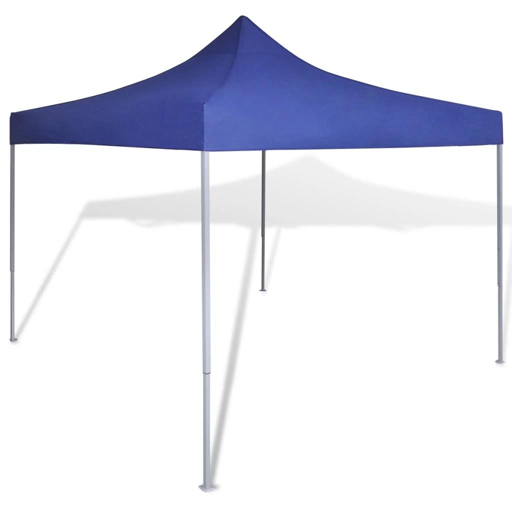 Tente Pliante Auvent Tanche 3m X 3m Bleu