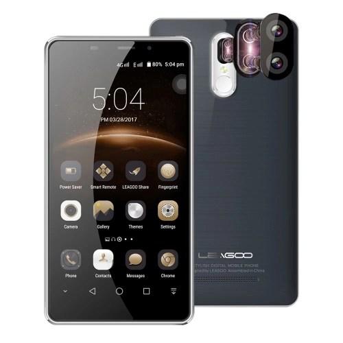 LEAGOO M8 Pro 4G Smartphone 5.7inch HD Screen 2GB RAM 16GB ROM Dual Rear Camera