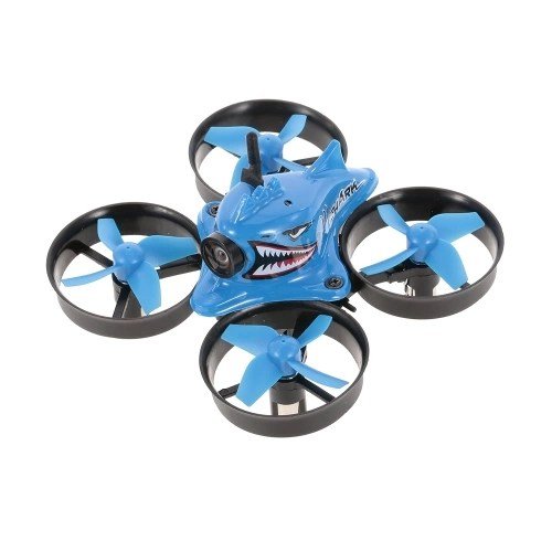 Blue Shark Micro Tiny 5.8G 1000TVL Cámara Coreless RC Racing Quadcopter RC Drone con FPV Gafas RTF 2019