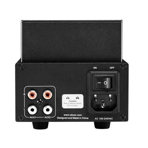 XDuoo TA-05 Hi-Fi Amplificador de auriculares con tubo de vacío Sonido estéreo de alta calidad para entusiastas de la música