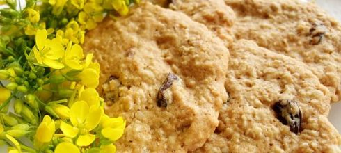 [食譜] 蜂蜜燕麥葡萄餅乾做法
