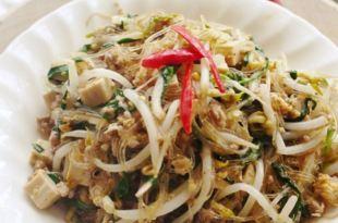 [食譜] 泰式炒麵做法,泰式豆芽韭菜碎肉炒米粉Pad Thai