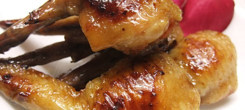 [食譜] 明太子烤雞翅做法