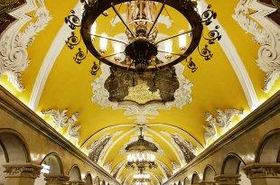[自助旅行] 俄羅斯莫斯科地鐵站巡禮
