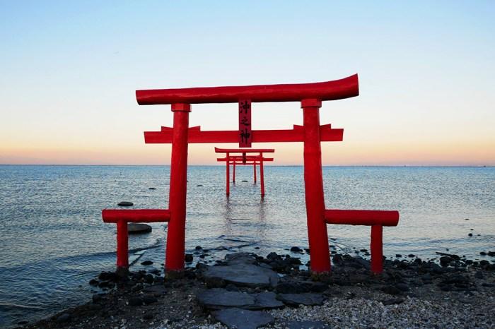 [自助旅行] 九州佐賀,大魚神社,海中鳥居