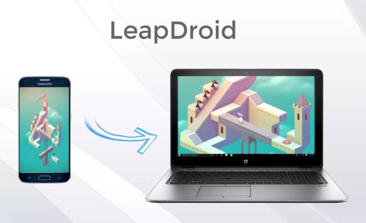 leapdroid