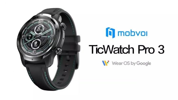 Mobvoi TicWatch Pro 3 in pre-ordine su Amazon in Regno Unito