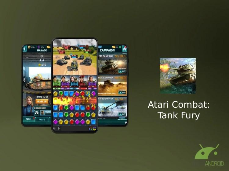 Atari Combat: Tank Fury è uno strategico basato sugli abbinamenti