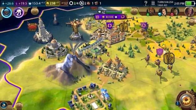 civilization vi android download disponibile