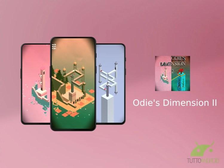 Odie's Dimension II è un rompicapo isometrico in stile Monument Valley
