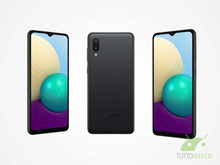 Samsung Galaxy A02 è ufficiale: grande batteria anche nella fascia bassa