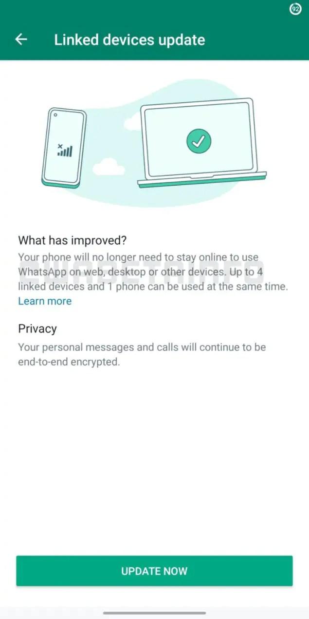 whatsapp beta 2.21.19.9 aggiornamento novità
