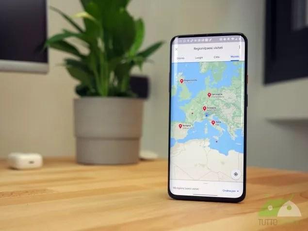 Google Maps e Foto accolgono novità perfette per dei diari di viaggio