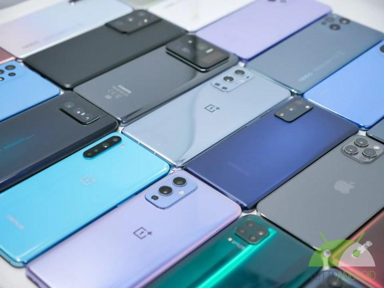 La classifica con gli smartphone più potenti di aprile secondo AnTuTu