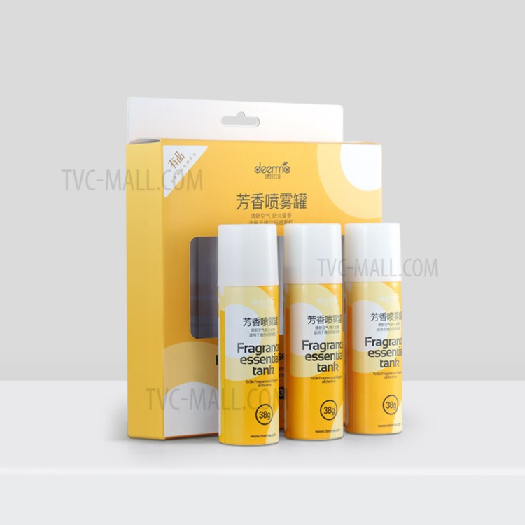 XIAOMI DEERMA DEM-HC666 Fragrance Essential Tank Aroma Spray Cans [3Pcs/Box]-1