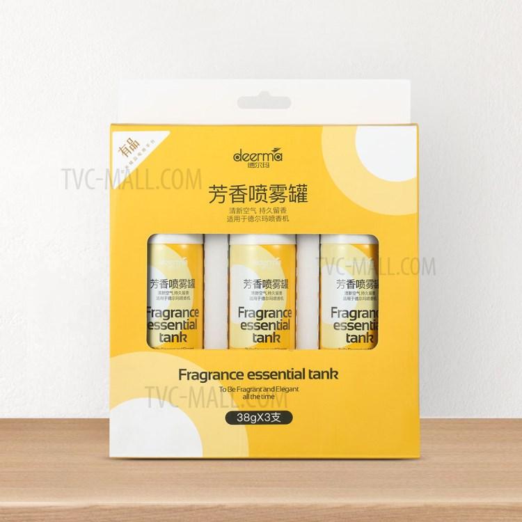 XIAOMI DEERMA DEM-HC666 Fragrance Essential Tank Aroma Spray Cans [3Pcs/Box]-2