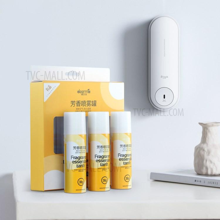 XIAOMI DEERMA DEM-HC666 Fragrance Essential Tank Aroma Spray Cans [3Pcs/Box]-3