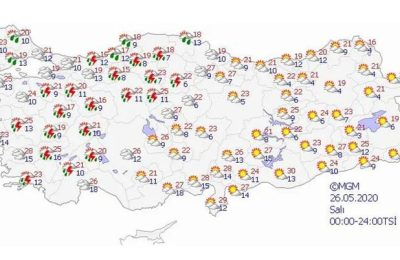 Bu saatlere dikkat! Meteorolojiden 10 il için sağanak yağış uyarısı