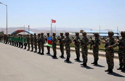 Azerbaycan'la ortak tatbikata katılacak Türk askerleri Nahçıvan'da