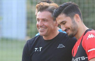 Nuri Şahin, Antalyaspor ile ilk antrenmanına çıktı