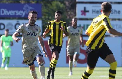 Fenerbahçe, ilk hazırlık maçında İstanbulspor'u farklı yendi