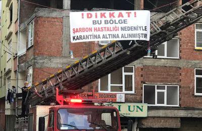 Trabzon'da şarbon karantinası