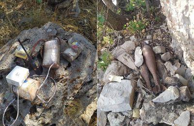 Pençe-Kaplan Operasyonu'nda PKK'ya ait mühimmat ve yaşam malzemesi ele geçirildi