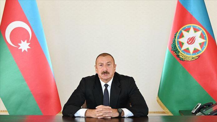 Azerbaycan Cumhurbaşkanı Aliyev: Dağlık Karabağ sorunu BM Güvenlik Konseyi kararları temelinde çözülmeli