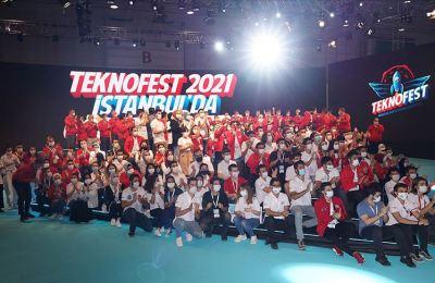 Gençler gelecekleri için TEKNOFEST'te buluştu