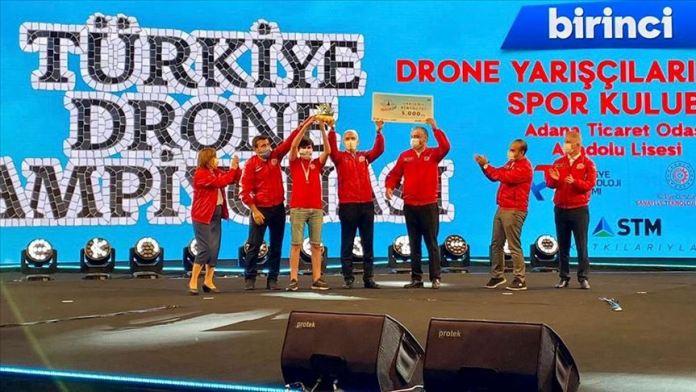 TEKNOFEST'te Dünya Drone Kupası bileti aldılar