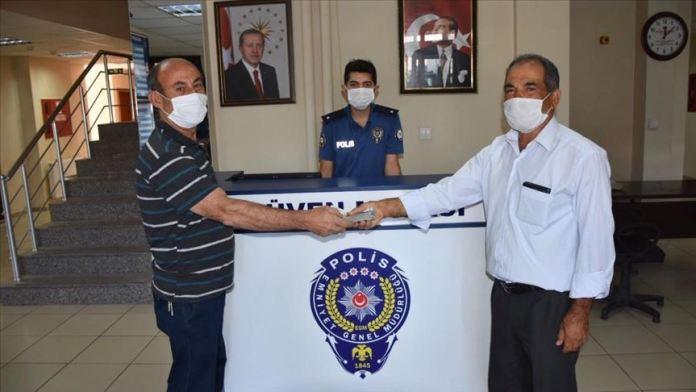 Malatya'da esnafın yolda bulduğu 16 bin lira sahibine teslim edildi